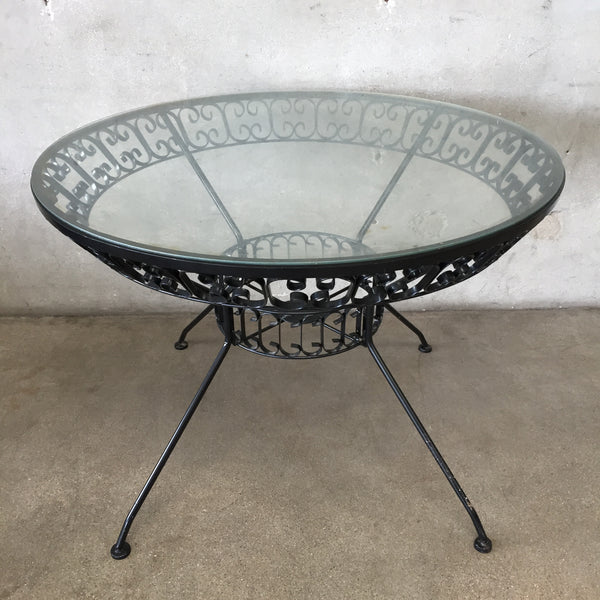 Arthur Umanoff Restored Grenada Line Patio Table