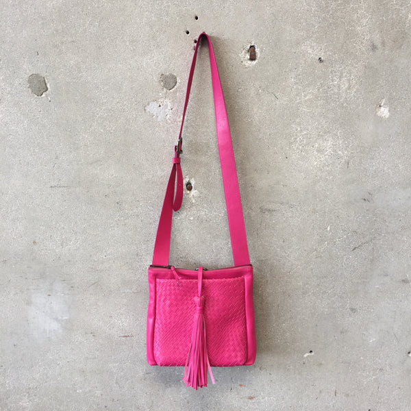 Jennifer Tattanelli Vintage Hot Pink Hand Bag