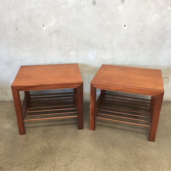 Mid Century Baker End Tables