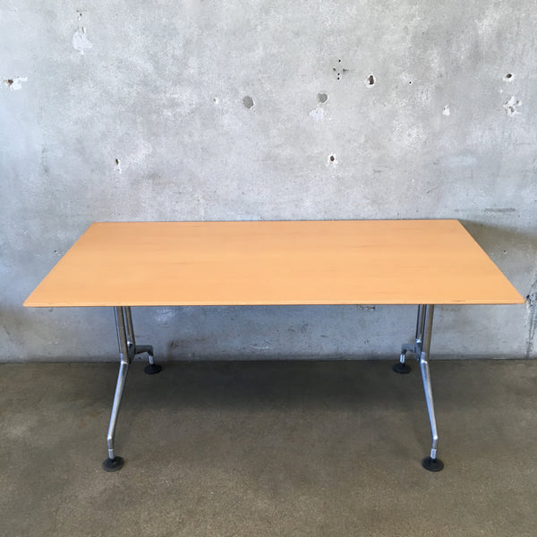 Modern Vitra Desk From Switzerland