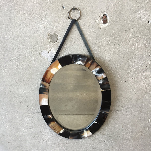 Instantly Handsome Oval bone Mirror