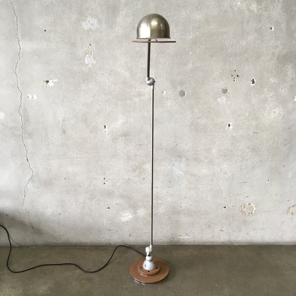 Vintage French Industrial Jielde Floor Lamp