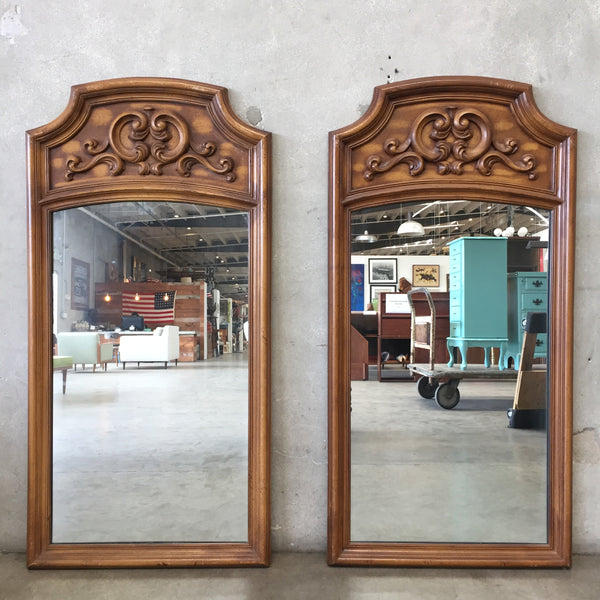 Vintage 1970's Hollywood Regency Mirrors