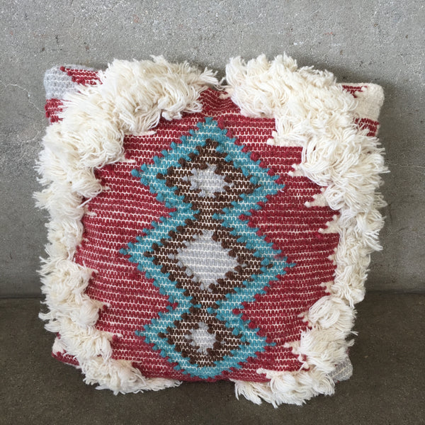 Fringe Decorative Pillow