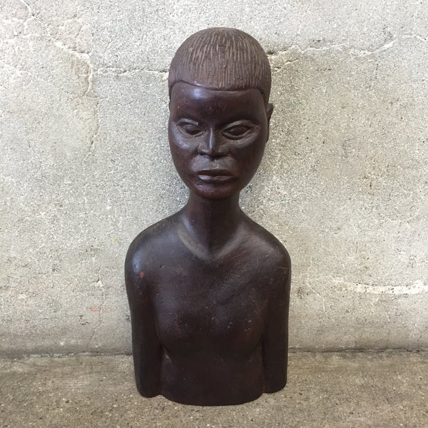 Mid Century Tribal Head