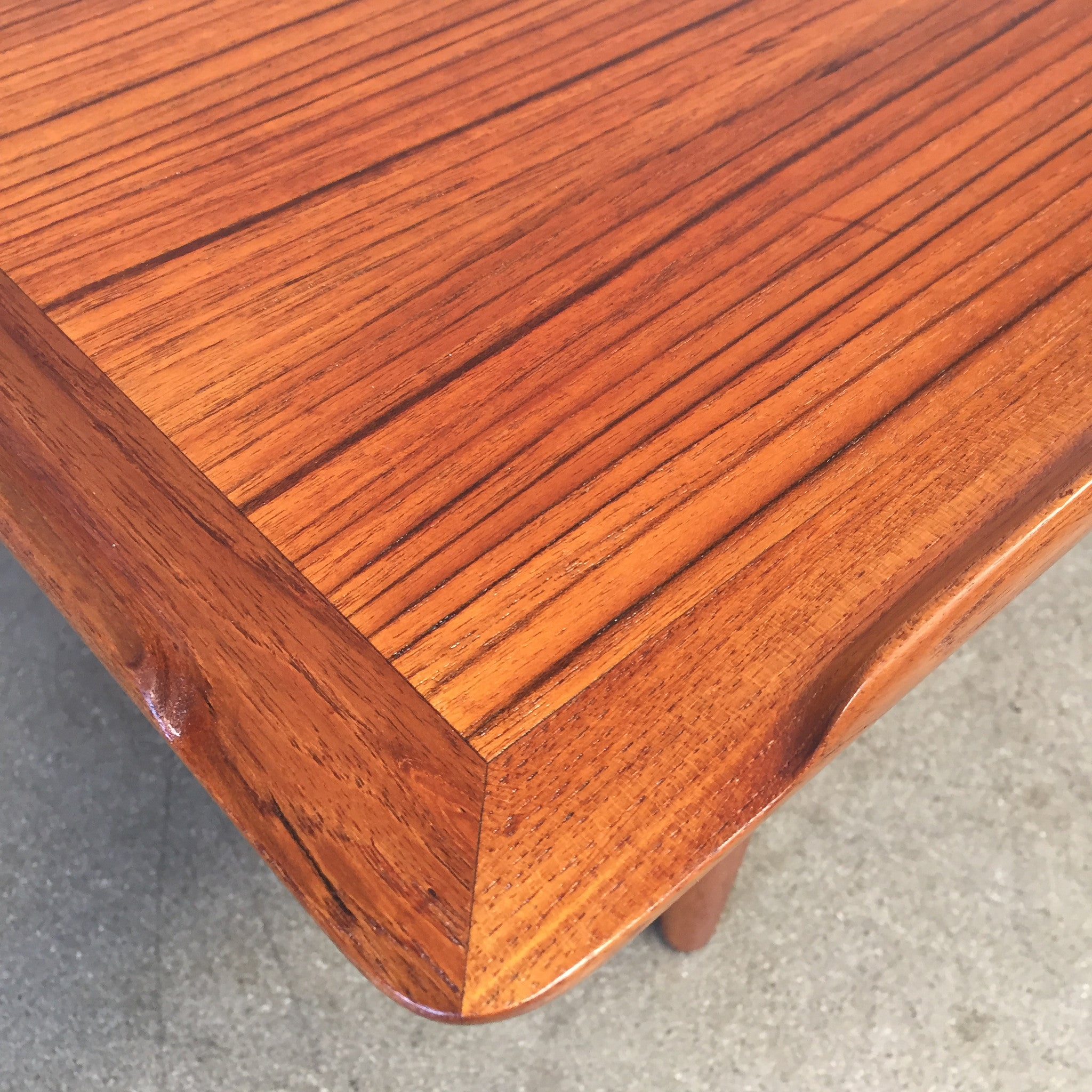 Danish Modern Teak Coffee Table by Poul Jensen for Selig