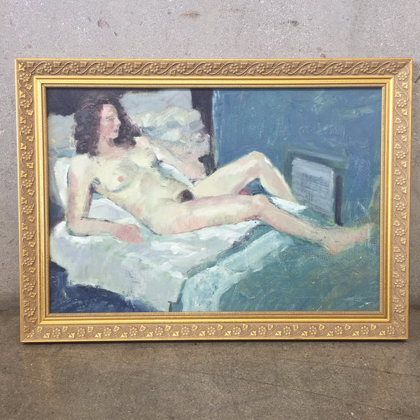Unsigned Oil on Canvas Impressionist Nude