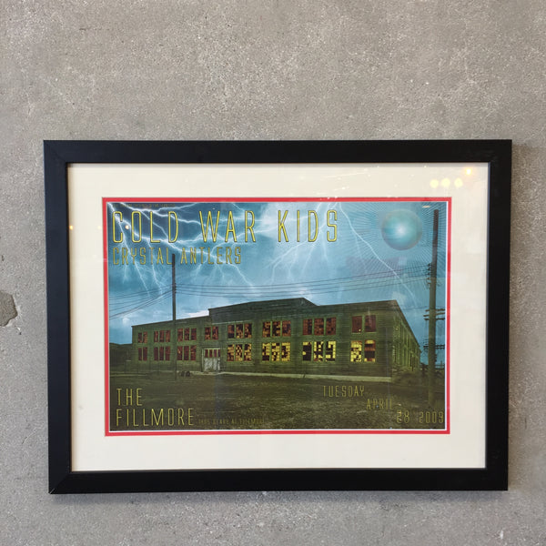 Cold War Kids Framed Poster