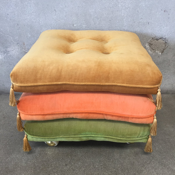 Vintage Stackable Ottoman