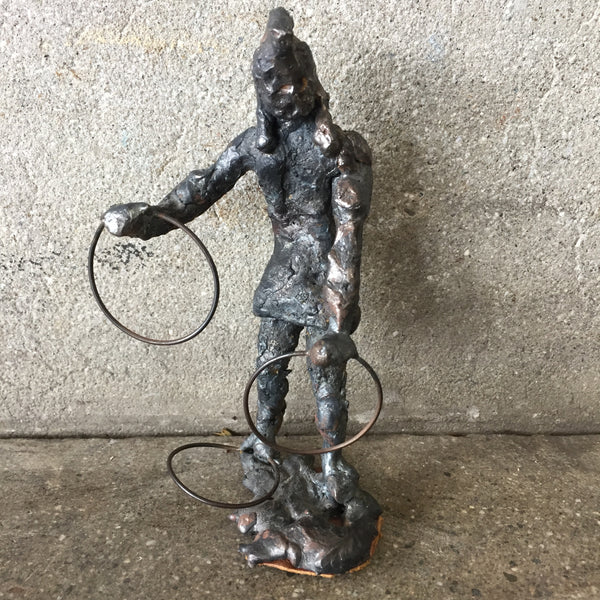 Free Form Metal Apache Hoop Dancer