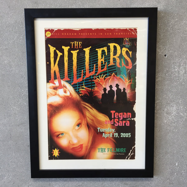 The Killers - Tegan + Sara Framed Poster