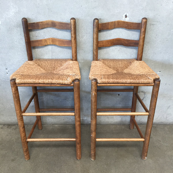 Pair of Vintage Spanish Style Bar Stools