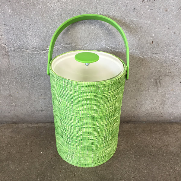 Lime Green Vintage Ice Bucket