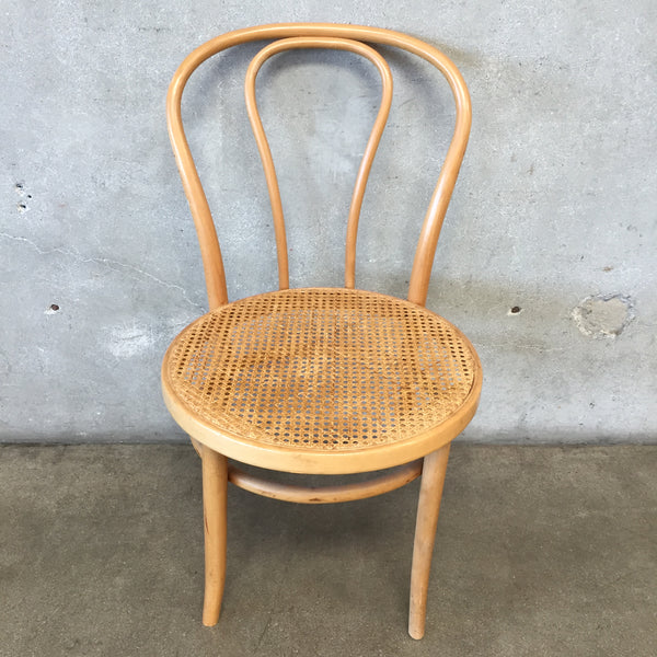 Vintage Cane Bentwood Chair