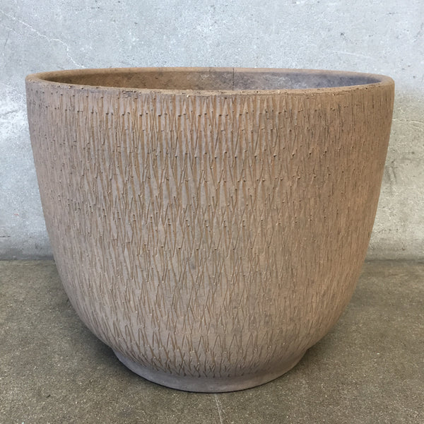 Vintage Mid Century Sgraffito Textured Gainey Pot