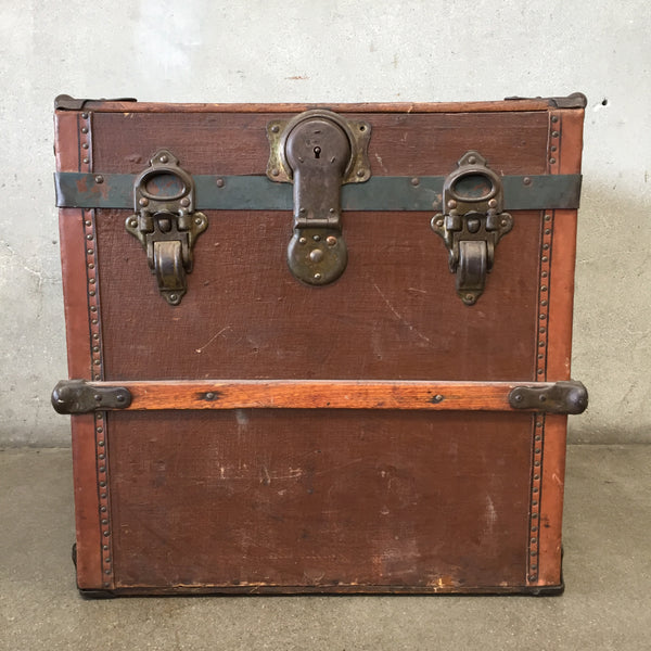 Small Steamer Trunk R.H. Macy & Co New York