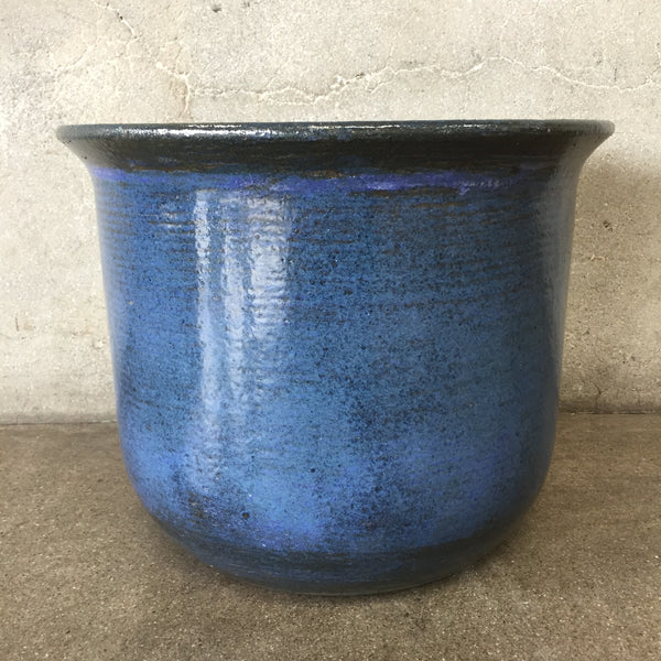 Vintage Textured Blue/Gray Gainey Ceramics