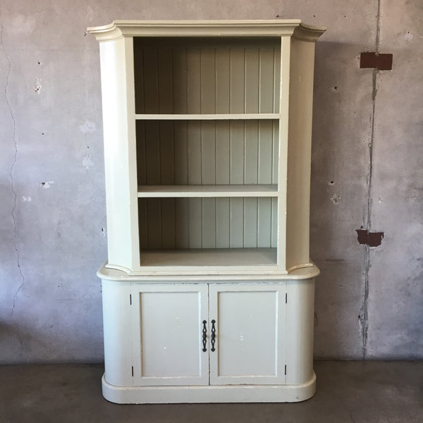 Two Piece Hand Crafted Shelf Unit