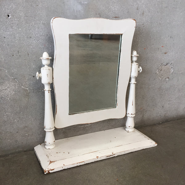 Vintage Shabby Chic Table Mirror