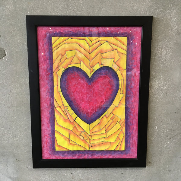 Heart Painting by David Muller 2012