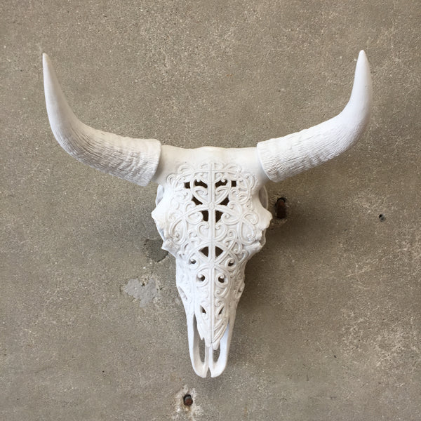New Wall Hanging Bull Horn