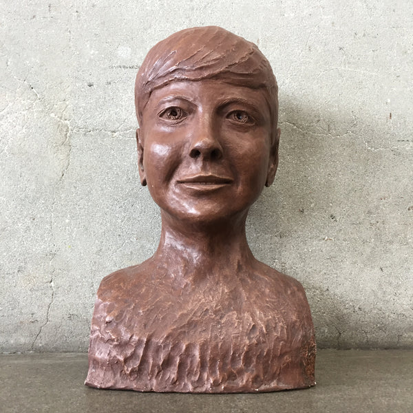1958 Bust Boy Ceramic