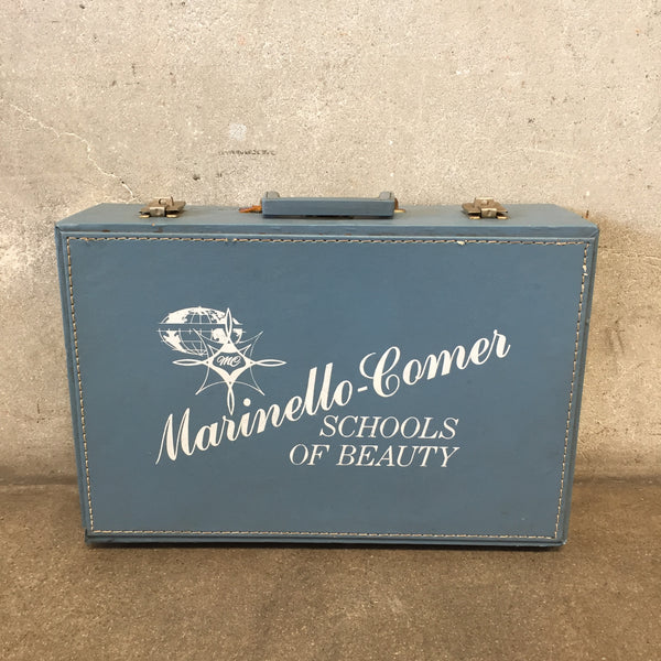 Vintage Marinello School of Beauty Case