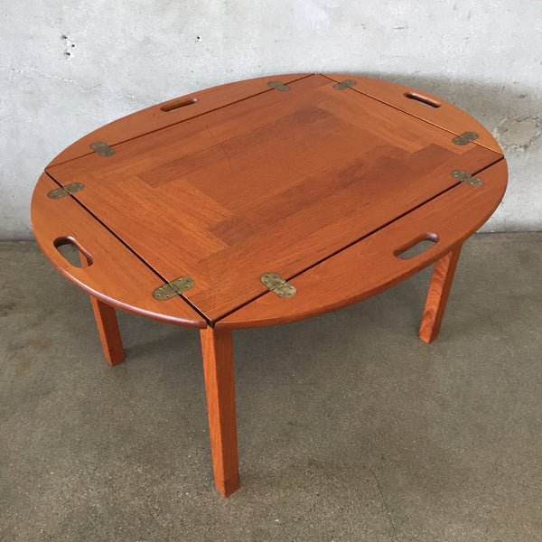Danish Modern Teak Butler Table