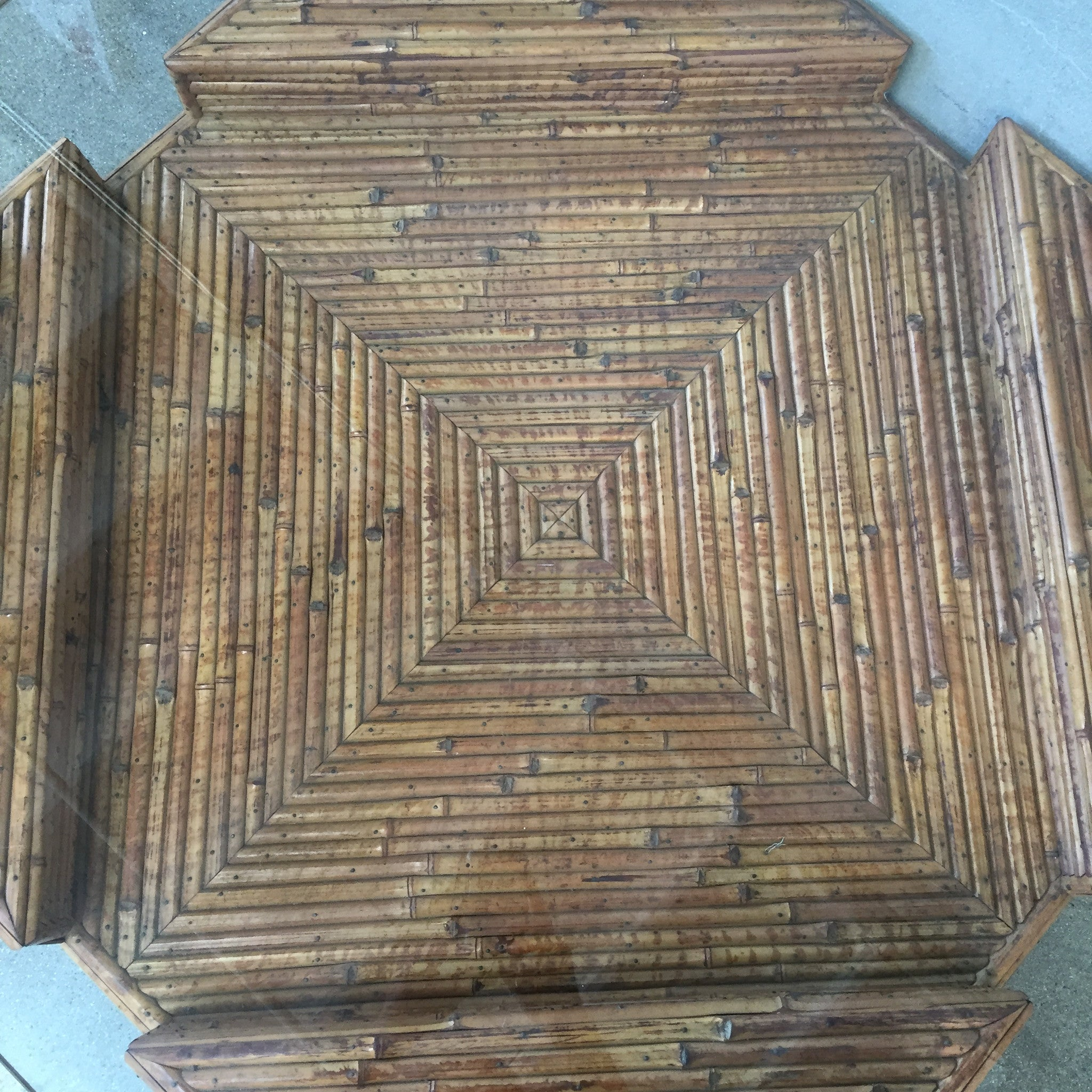 Vintage Bamboo Coffee Table Size Coffee Tablebamboo