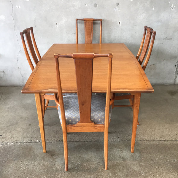 Vintage Walnut Dining Set