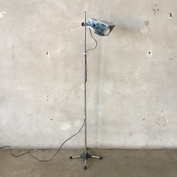 Chrome Floor Lamp by EA