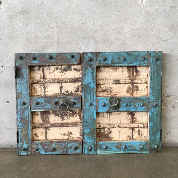 Rustic Two Door Panel