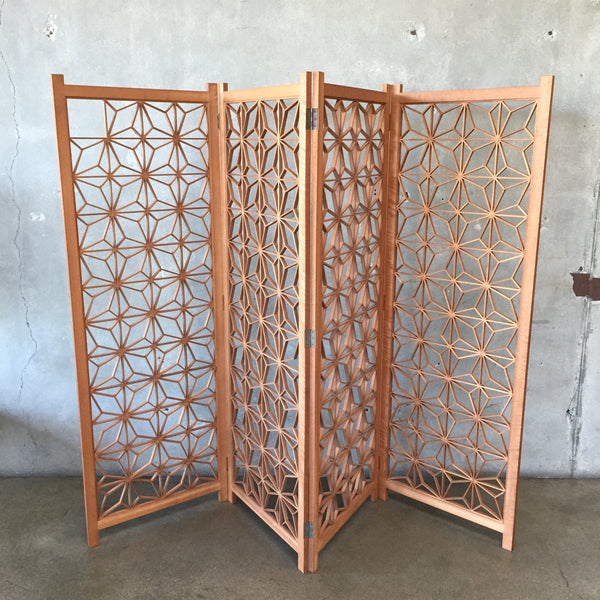 1950's Japanese Handmade Cut Screens