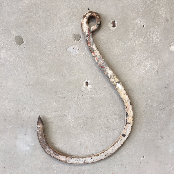 Vintage Nautical Fishing Hook