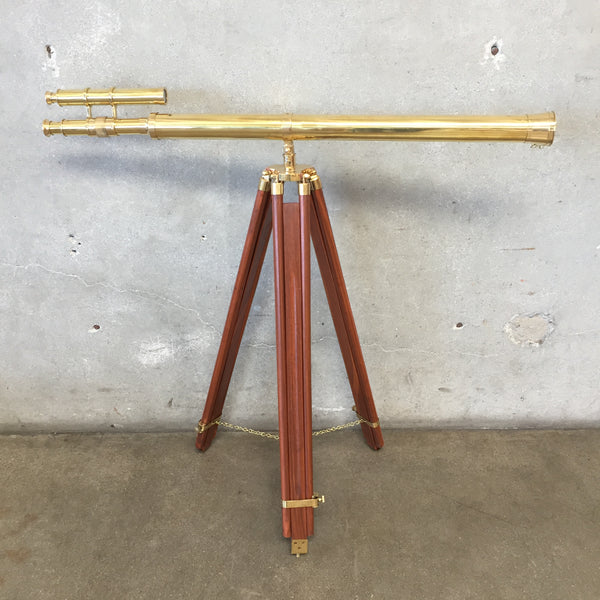 Nautical Brass Telescope