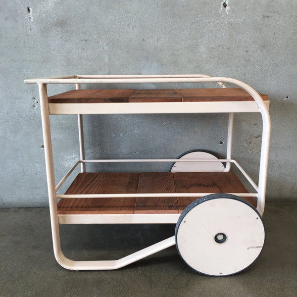 Vintage Brown Jordan Bar Cart