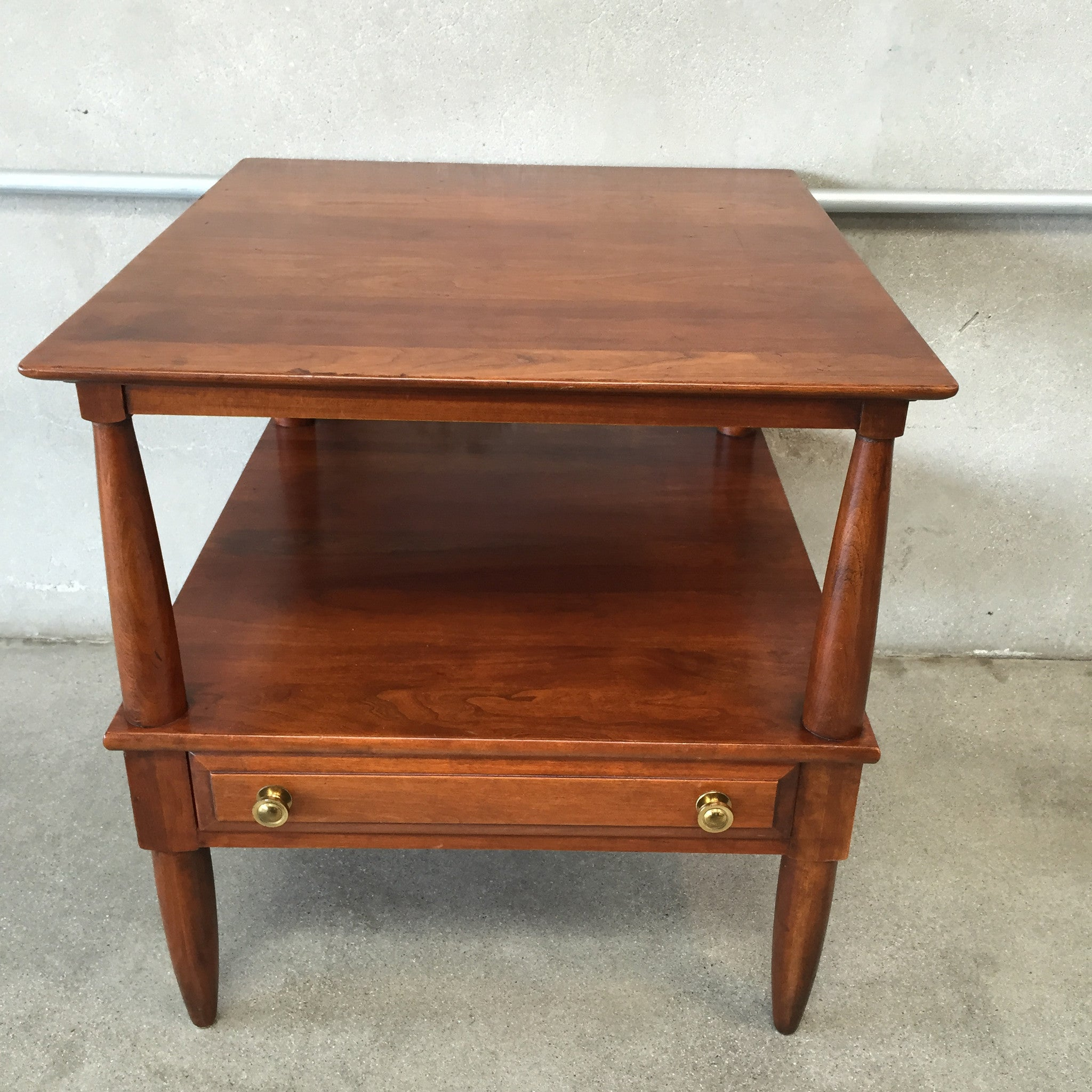 Willett Solid Cherry Mid Century Modern Side Table – UrbanAmericana