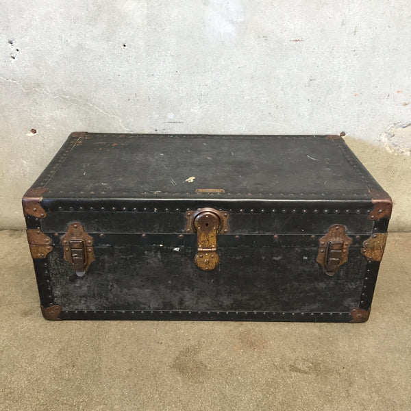 Black Vintage Trunk by Sterling