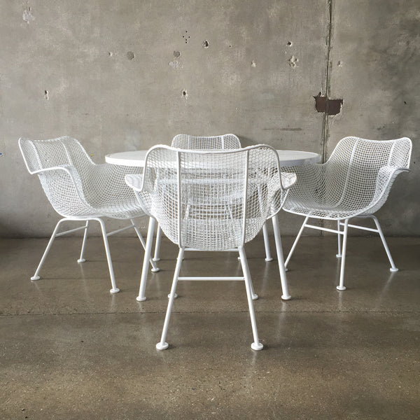 Mid Century Russell Woodard Patio Set