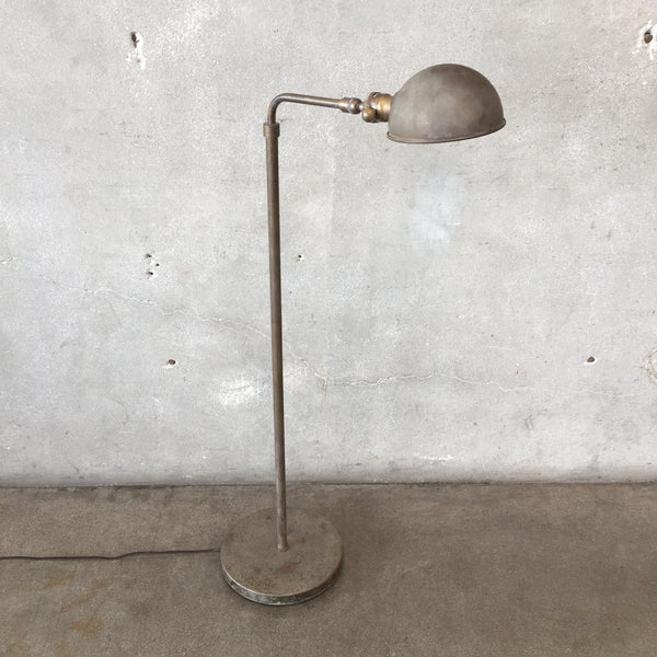Vintage Industrial Brass Pharmacy Lamp