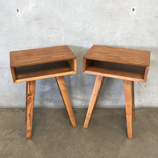 Modern Farmhouse End Tables by Arbor Millwork