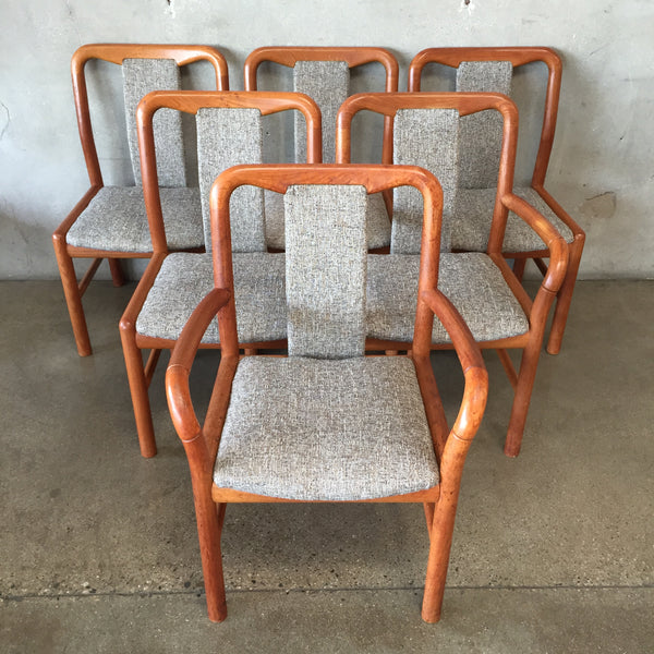 Mid Century Danish Teak Chairs by Boltinge
