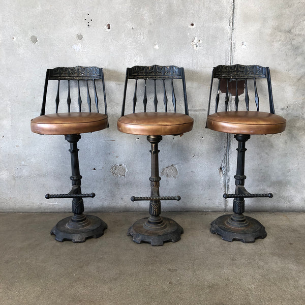 1960's Mid Century Stools by CRO-Modern