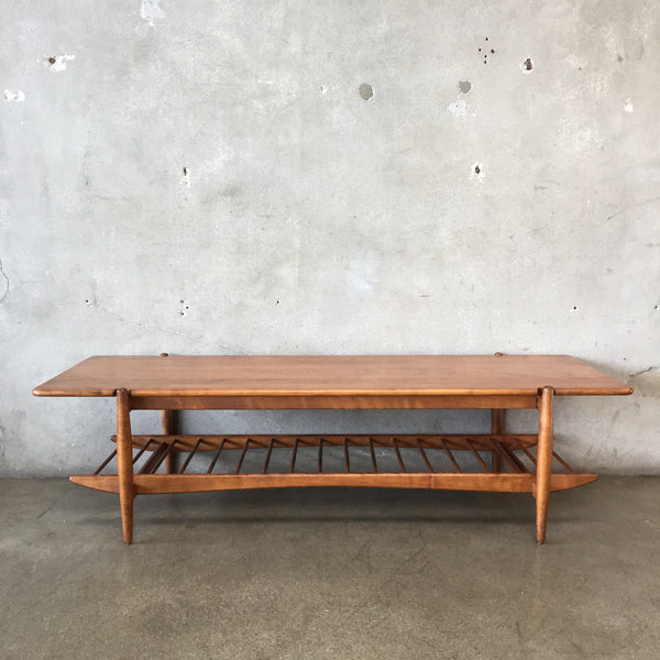 Russel Wright for Conant Ball Mid Century Coffee Table