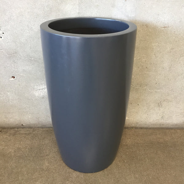 Tall Gray Planter