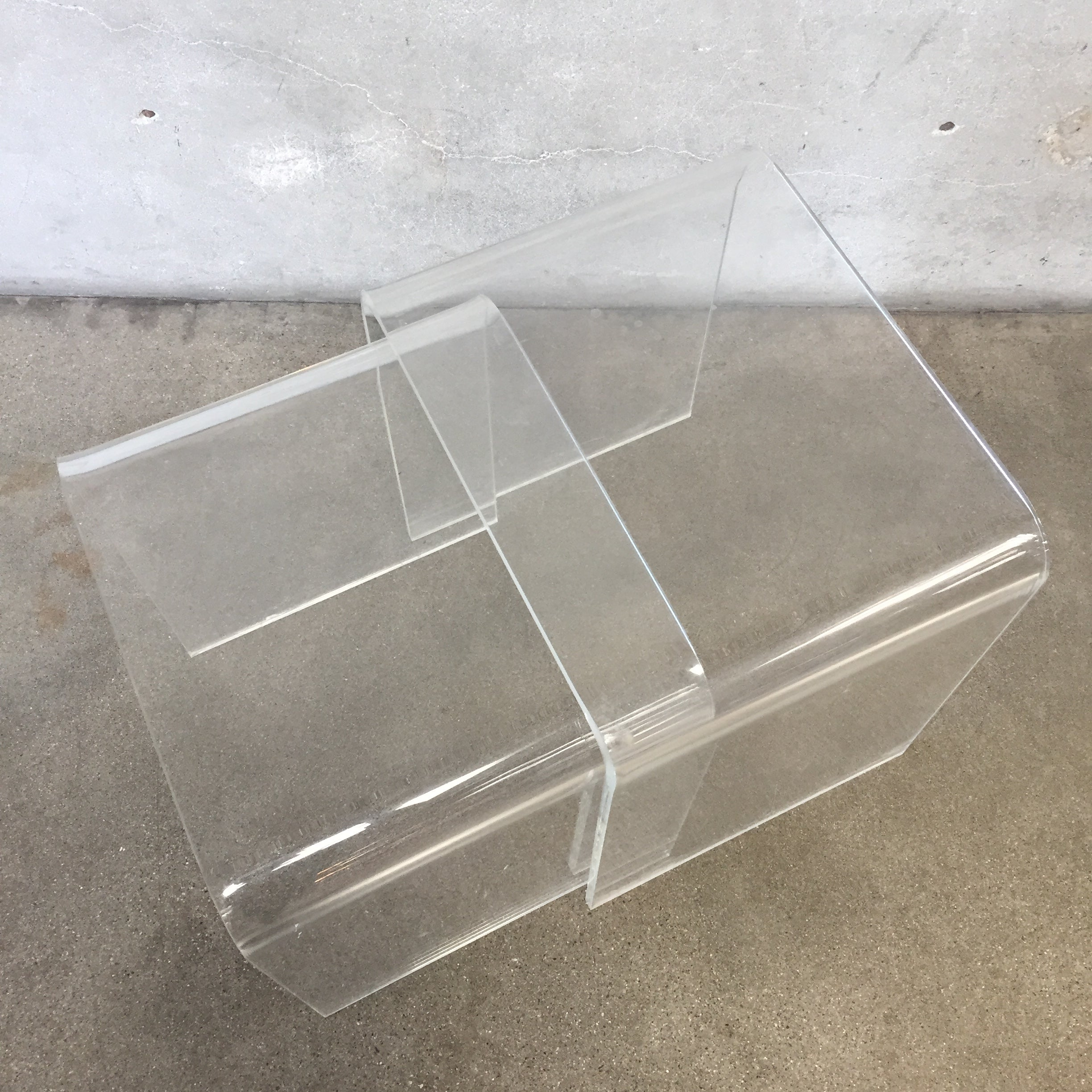 ... Lucite Nesting Tables