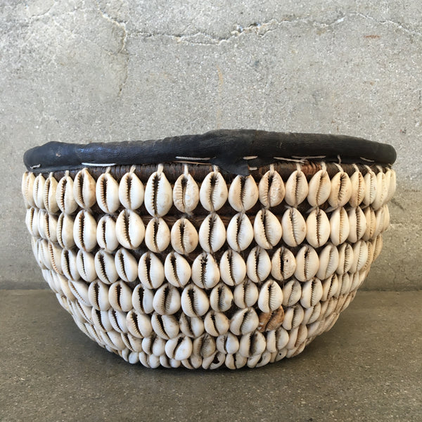 Vintage Shell Basket