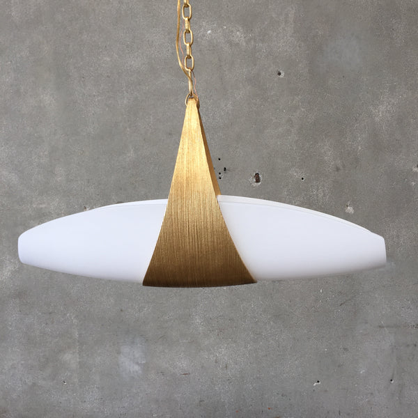 "New Visual Comfort ""Utopia"" Pendant Light"