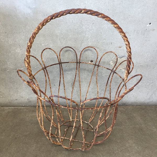Large Metal Basket