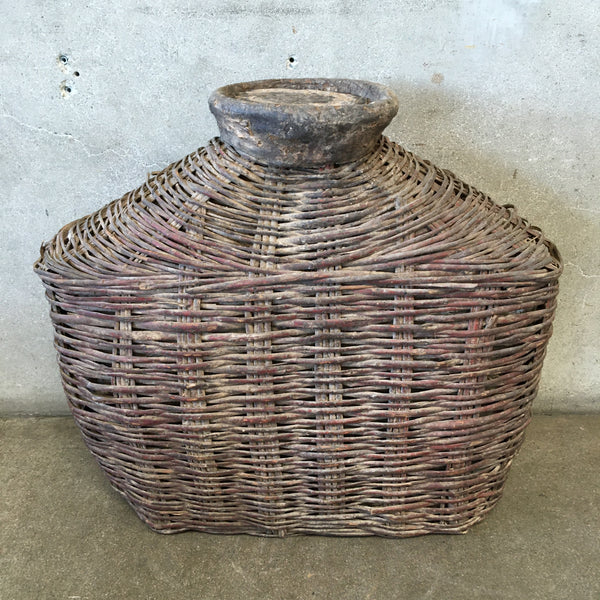 Antique Fishing Basket